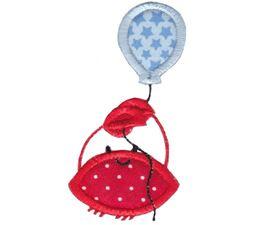 Balloon Crab Applique