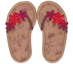 Flip Flops Applique 3