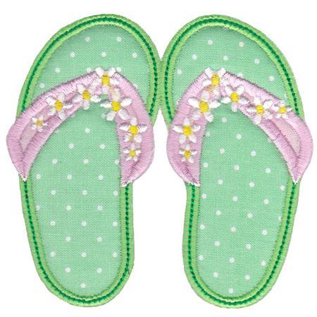 Flip Flops Applique 5