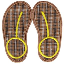 Flip Flops Applique 6