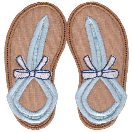 Flip Flops Applique 7