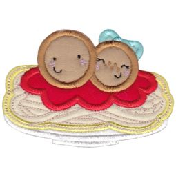 Spaghetti and Meatballs Applique