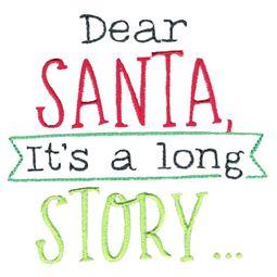 Dear Santa It
