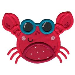 Sunglasses Crab Applique