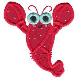 Sunglasses Lobster Applique