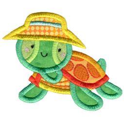 Bucket Hat Turtle Applique