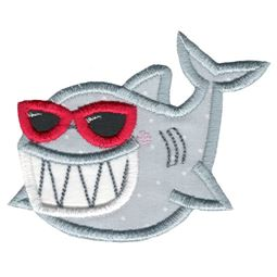 Sunglasses Shark Applique