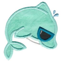 Sunglasses Dolphin Applique