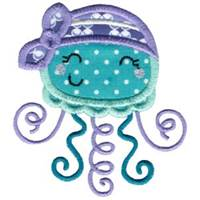 Fun Sea Creatures Applique