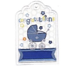 Baby Congratulations Gift Tag