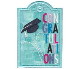 Graduation Congratulations Gift Tag