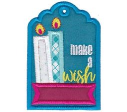 Make A Wish Birthday Gift Tag