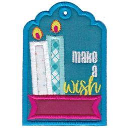 Make A Wish Birthday Gift Tag
