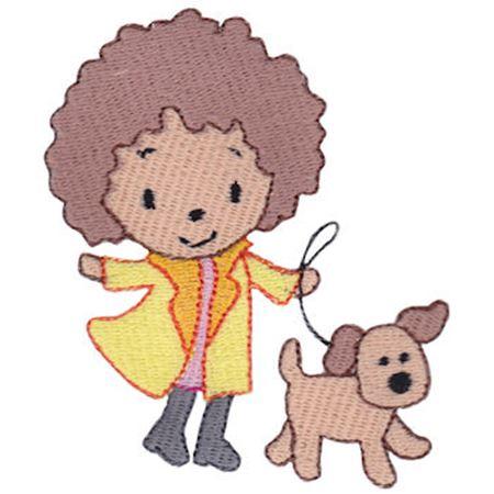 Dog Walking Girl