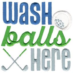 Wash Balls Here