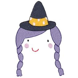 Witch Halloween Face
