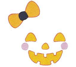 Girl Jack O Lantern Halloween Face