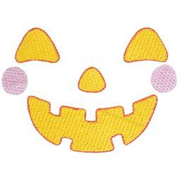 Boy Jack O Lantern Halloween Face