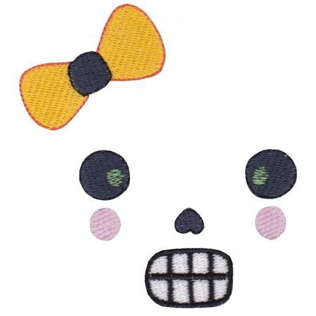 Girl Skull Halloween Face