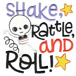Shake Rattle And Roll Skeleton