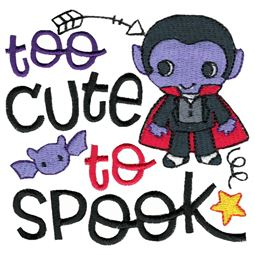 Too Cute To Spook Dracula