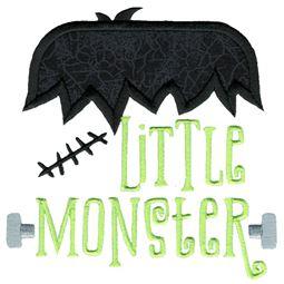 Little Monster Applique