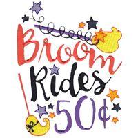 Broom Rides 50c