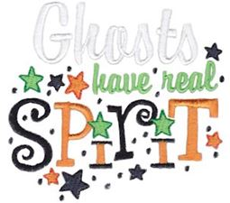 Ghosts Have Real Spirit