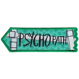 Psychopath ITH Halloween Sign