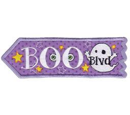 Boo Boulevard ITH Halloween Sign