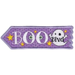Boo Boulevard ITH Halloween Sign