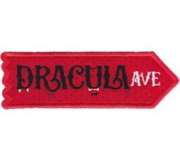 Dracula Avenue ITH Halloween Sign