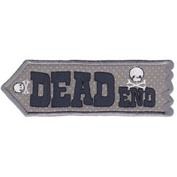 Dead End ITH Halloween Sign