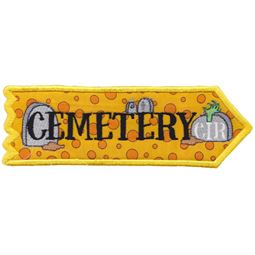 Cemetery Road ITH Halloween Sign