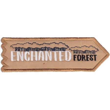 Enchanted Forest ITH Halloween Sign