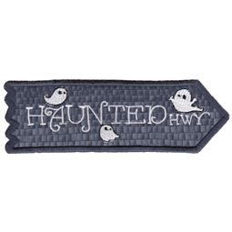 Haunted Highway ITH Halloween Sign