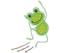 Woohoo Frog Applique