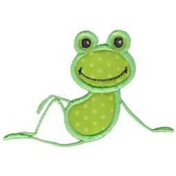 Sitting Frog Applique