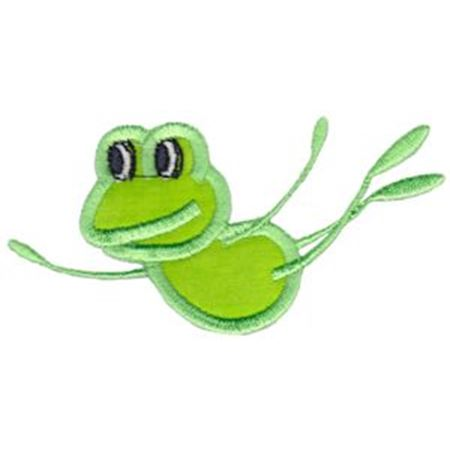 Leaping Frog Applique