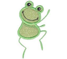 Dancing Frog Applique