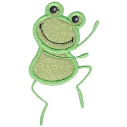 Dancing Frog Applique