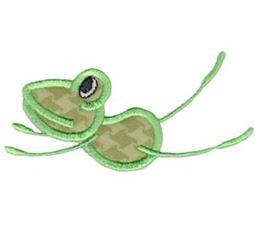Flying Frog Applique