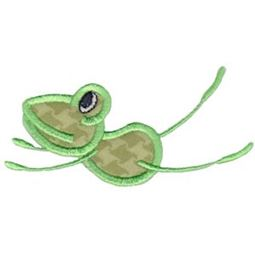 Flying Frog Applique