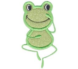 Guess What Frog Applique
