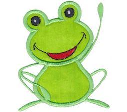 Hi There Frog Applique