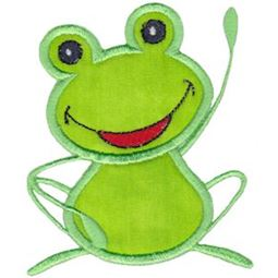 Hi There Frog Applique