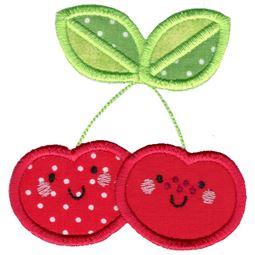 Applique Cherries