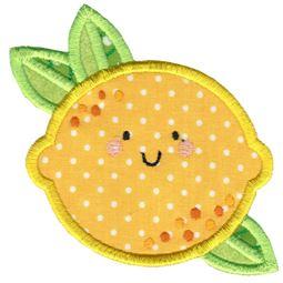 Applique Lemon