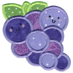 Applique Grapes