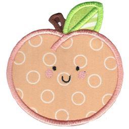 Applique Peach